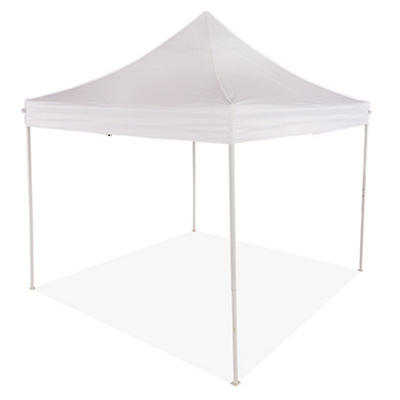 Impact Canopy 10'L x 10'W Sports Pop-Up Canopy - White