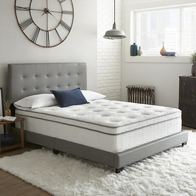 """Contour Rest Dream Sleep King Size 14"""" Durham Hybrid Mattress"""