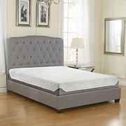 "Contour Rest Dream Support King Size 8"" Cooling Air Flow Gel Memory Foam Mattress"