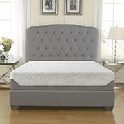 "Contour Rest Dream Support Queen Size 10"" Air Flow Gel Memory Foam Mattress"