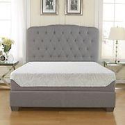 """Contour Rest Dream Support Full Size 10"""" Air Flow Gel Memory Foam Mattress"""