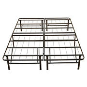 "Contour Rest Dream Support Full Size 14"" Metal Platform Bed Frame - Black"