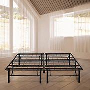 """Contour Rest Dream Support California King-Size 14"""" Metal Platform Bed Frame - Black"""