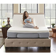 Contour Rest Motion Flex I Adjustable Queen-Size Power Mattress Foundation - Gray