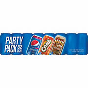 Pepsi Party Pack, 32 pk./12 fl. oz. cans