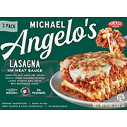 Michael Angelo's Lasagna with Meat Sauce, 3 pk./11 oz.