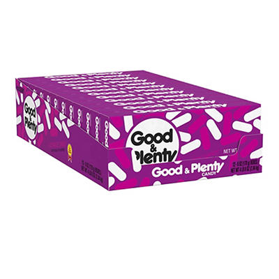Good and Plenty Candy, 12 pk./6 oz.