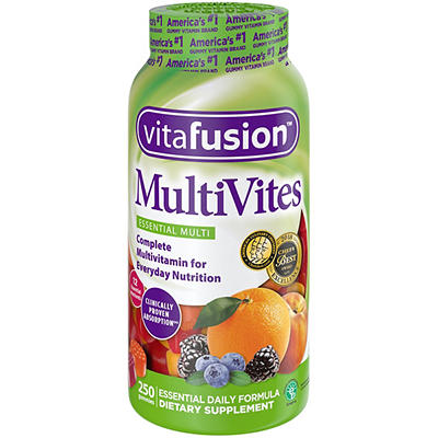 Vitafusion MultiVites Adults Chewable Gummy Multivitamin Dietary Suppl