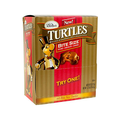 DeMet's Turtles Bite Size Bag, 60 ct.