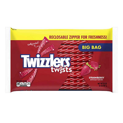 Hershey's Twizzlers Strawberry Twists, 2 pk./32 oz.