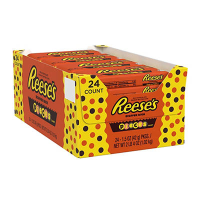 Reese's Pieces Peanut Butter Cups, 24 pk./1.5 oz.