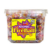 Atomic Fireball Tub, 150 ct.
