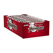 Mounds Candy Bar, 36 pk./1.75 oz.