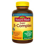 Nature Made Super B-Complex with Vitamin C and Folic Acid, 460 ct.