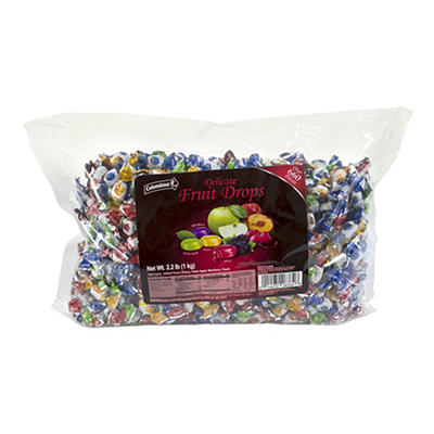 Colombina Delicate Fruit Drops, 2.2 lbs.