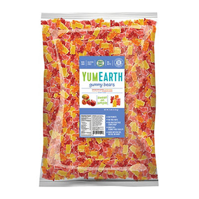 YumEarth Gummy Bears, 5 lbs.