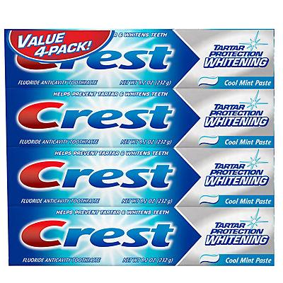 Crest Tartar Control Toothpaste, 4 pk./8.2 oz.