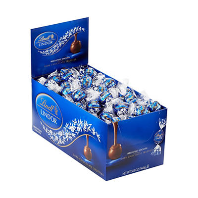 Lindt Lindor Dark Chocolate Truffles, 50.8 oz.