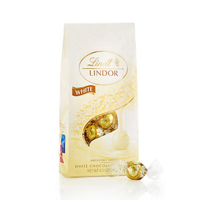 Lindt Lindor White Chocolate Truffles, 2 pk./8.5 oz.