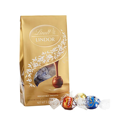 Lindt Lindor Assorted Chocolate Truffles, 3 pk./5.1 oz.