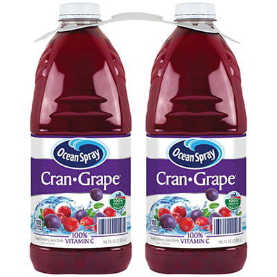 Ocean Spray Cran Grape Juice, 2 pk./96 oz.