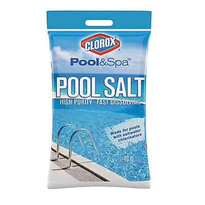 Clorox Pool Salt, 40 lbs.
