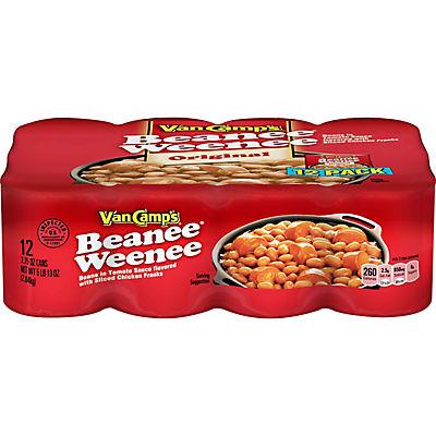 Van Camps Beanee Weenee, 12 pk./7.75 oz.