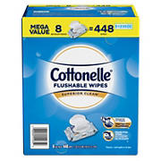 Cottonelle Flushable Cleansing Cloths, 8 pk./56 ct.