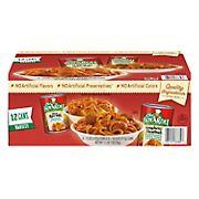 Chef Boyardee Mini Ravioli and Spaghetti & Meatballs Variety Pack, 12 pk.
