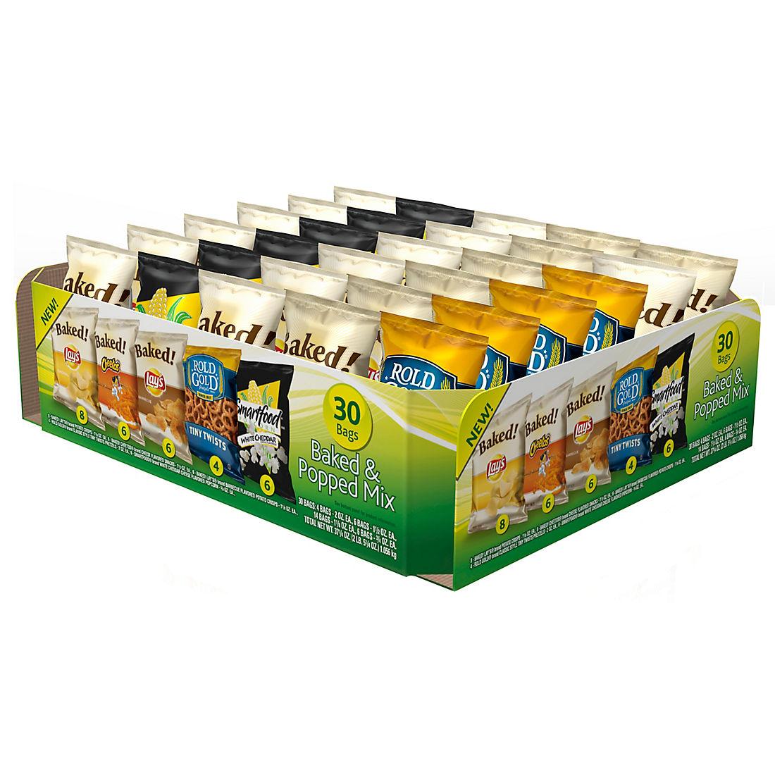 Frito-Lay Variety Pack, 30 ct