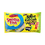 Sour Patch Kids Candy and Swedish Fish Candy Variety Pack, 115 ct.