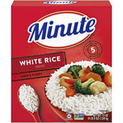 Minute Rice Instant Enriched Long Grain White Rice, 72 oz.