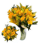 InBloom Sunny Vibes Bouquet, 27 pc.