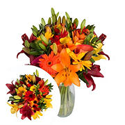 InBloom Harvest Blooms Bouquet, 31 Stems