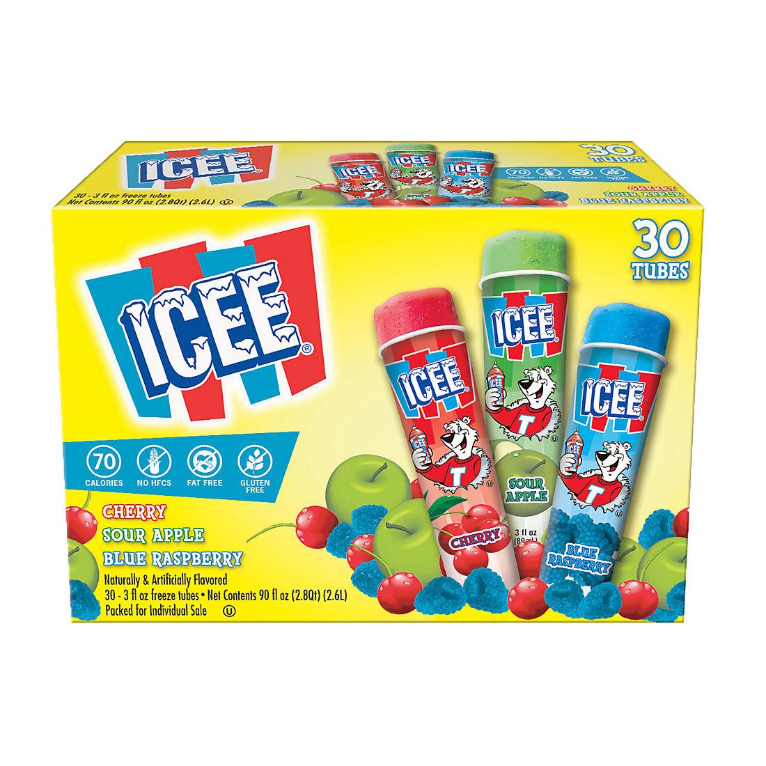 ICEE Variety Freeze Tubes, 30 ct./3 fl