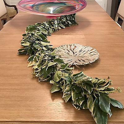 InBloom 25' Bush Ivy Variegated Garland