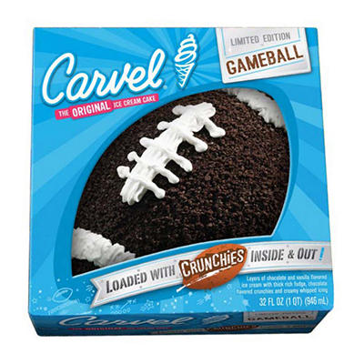 Carvel Game Ball Ice Cream Cake, 32 fl. oz.