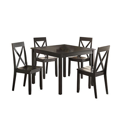 Acme Zlipury 5-Pc. Dining Set - Black