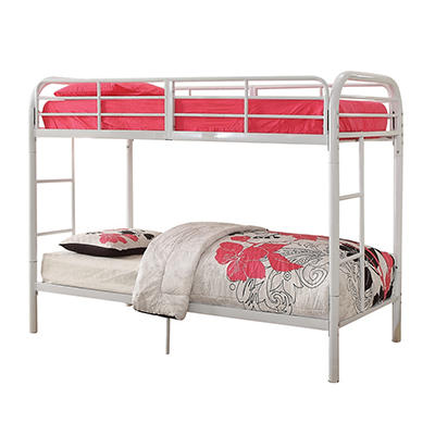 Acme Thomas Twin-Size Bunk Bed - White