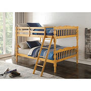 Acme Homestead Full-Over-Full Bunk Bed - Natural