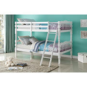 Acme Homestead Twin-Size Bunk Bed - White