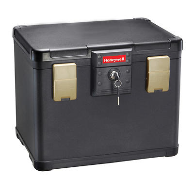 Honeywell 0.6-Cu.-Ft. Fire and Water Document and File Chest with Key