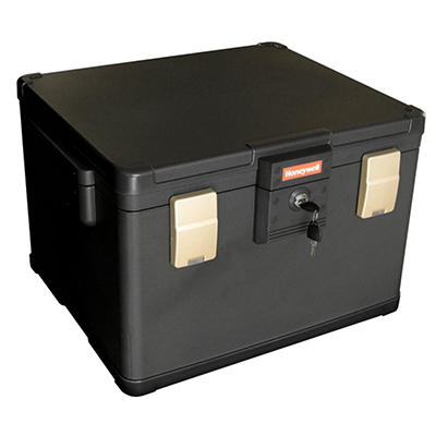 Honeywell 1.06-Cu.-Ft. Fire and Water Document and File Chest with Key Lock