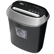 Honeywell 9112 Cross-Cut Paper Shredder, 12 Sheet Capacity - Black/Silver
