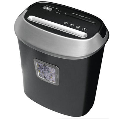 Honeywell 9112 Cross-Cut Paper Shredder, 12 Sheet Capacity - Black/Sil