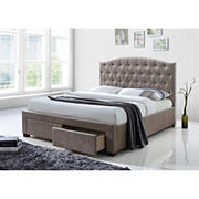 Acme Denise Queen-Size Bed with Storage