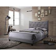Acme Venecha Fabric Queen-Size Bed - Gray