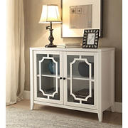 Acme Ceara Console Table - White