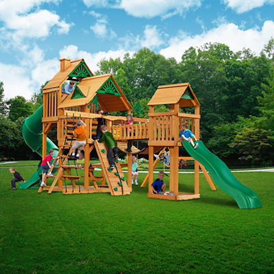 Gorilla Playsets Treasure Trove Swing Set