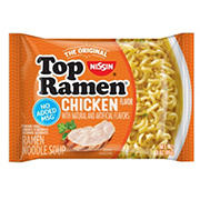 Nissin Top Ramen Chicken Flavor Noodle Soup, 48 pk./3 oz.